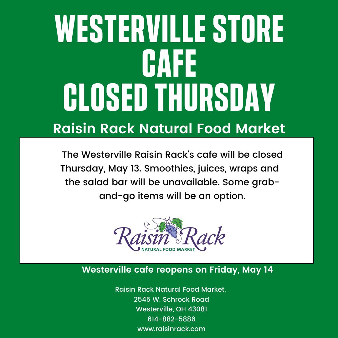 Westerville cafe closed Thursday